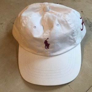 f05603d2e652f Ralph Lauren Accessories - UNIVERSITY OF ALABAMA Ralph Lauren Hat!